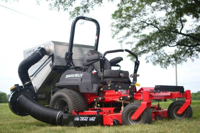 types of lawn vacuums