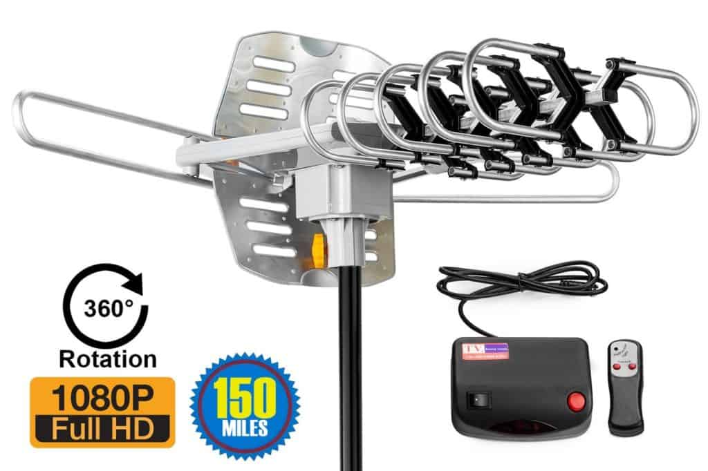 best outside tv antennas for digital televisions