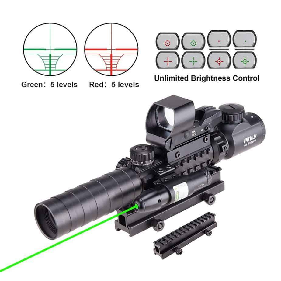 best scopes for AR 15 under $100