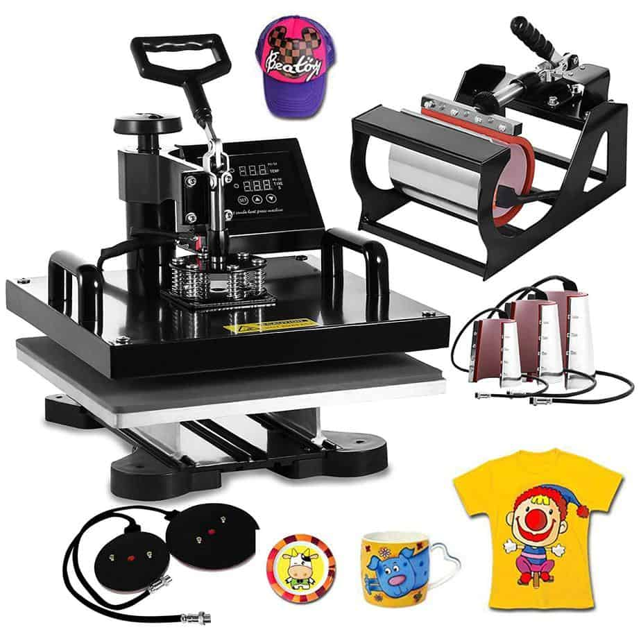 best heat press machines for small business