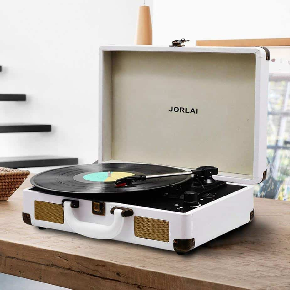best record players with built-in speakers