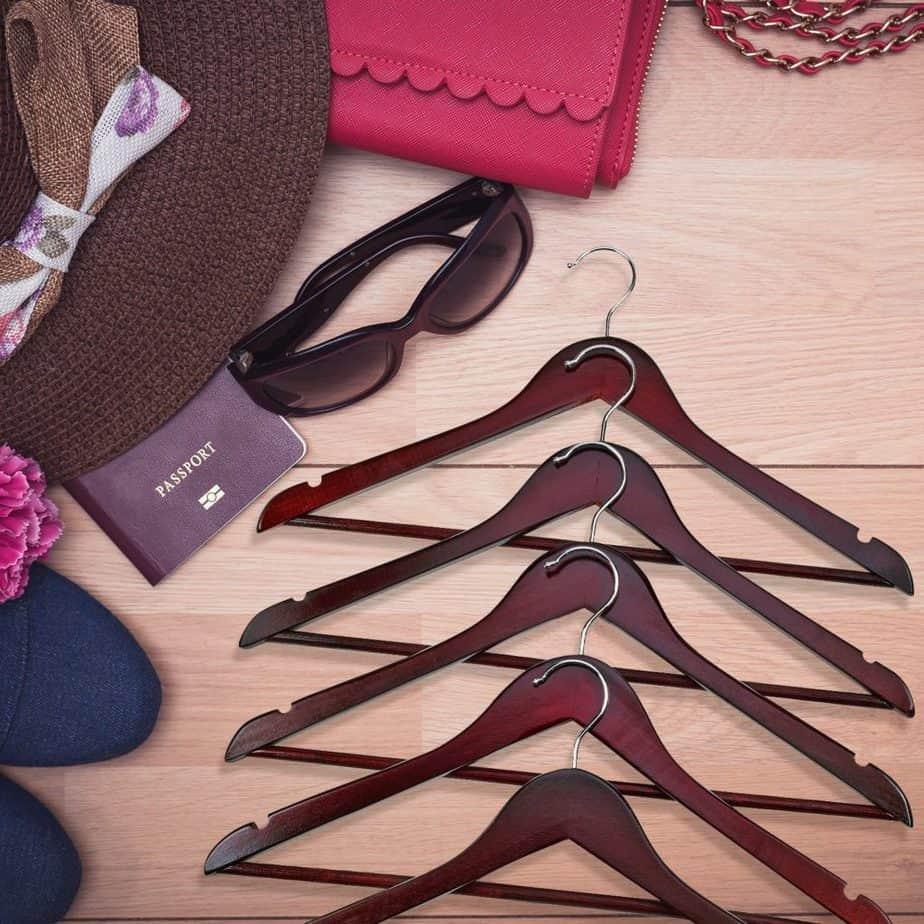 best wooden hangers